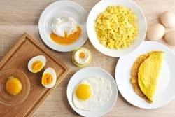 Er zijn veel manieren om een ei te bereiden
