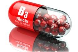 Niacine in een capsule