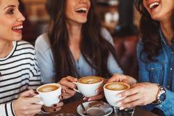 Koffie met vriendinnen