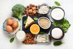 Calciumrijke voeding