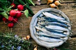 Visolie wordt o.m. gemaakt uit sardines