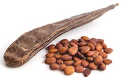 D-Chiro-Inositol wordt onder meer gewonnen uit de peulen van de Johannesbroodboom