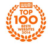 Award wua top 100 websites 2014